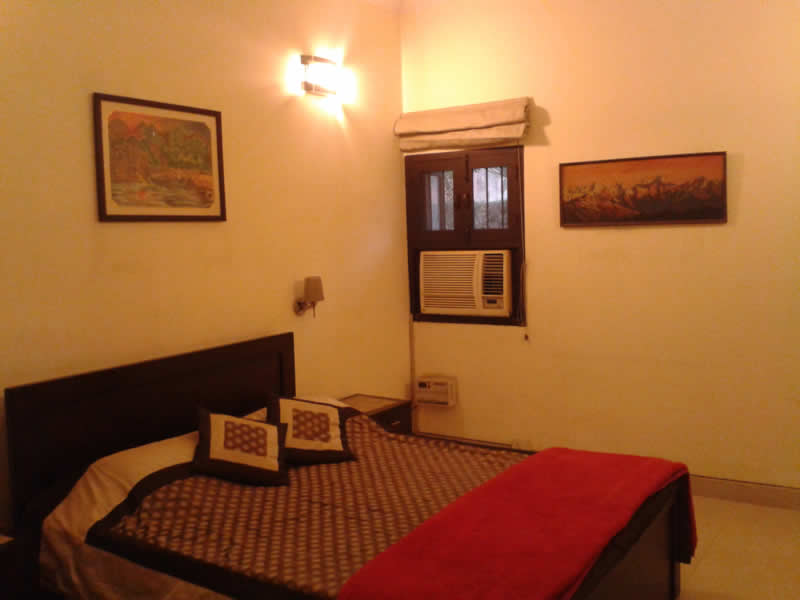 Fully Furnished 1BHK Apartment Flat Residential Unit House Home Villa Bungalow Independent Accommodation to lease rent out available in Saket Posh Area of South Delhi India, Suitable for NRI Expats Foreign Nationals Embassy Staffs in India Call Mr Brij Kumar +91 99996 70006, 99996 80006,Freehold India Realtors